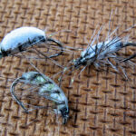 Sand flea mullet flies
