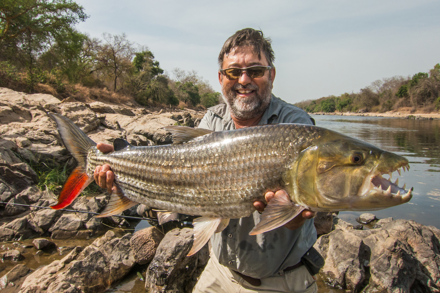 fly fishing in cameroon