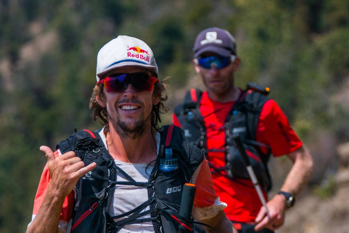 Ryan Sandes (and Ryno Griesel) in the Himalaya. (c) Dean Leslie / Red Bull Content Pool