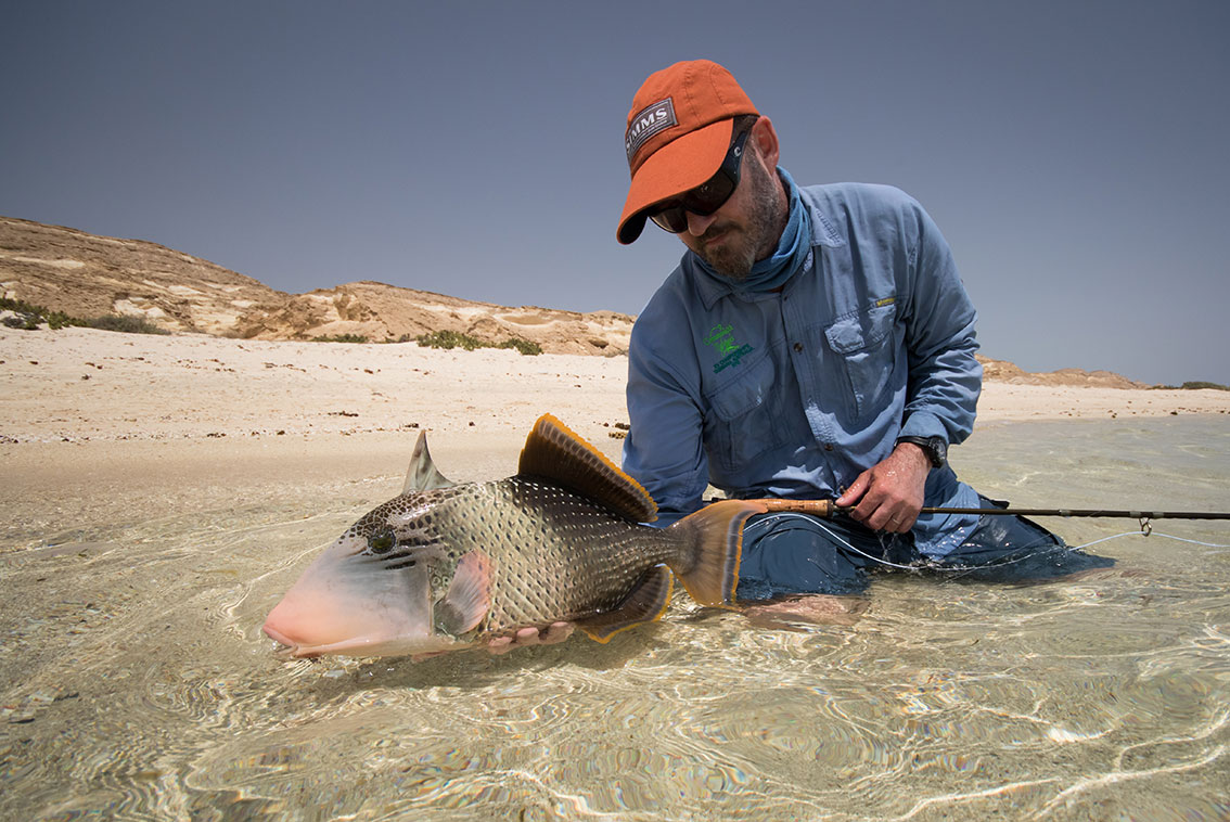 fly fishing in Sudan