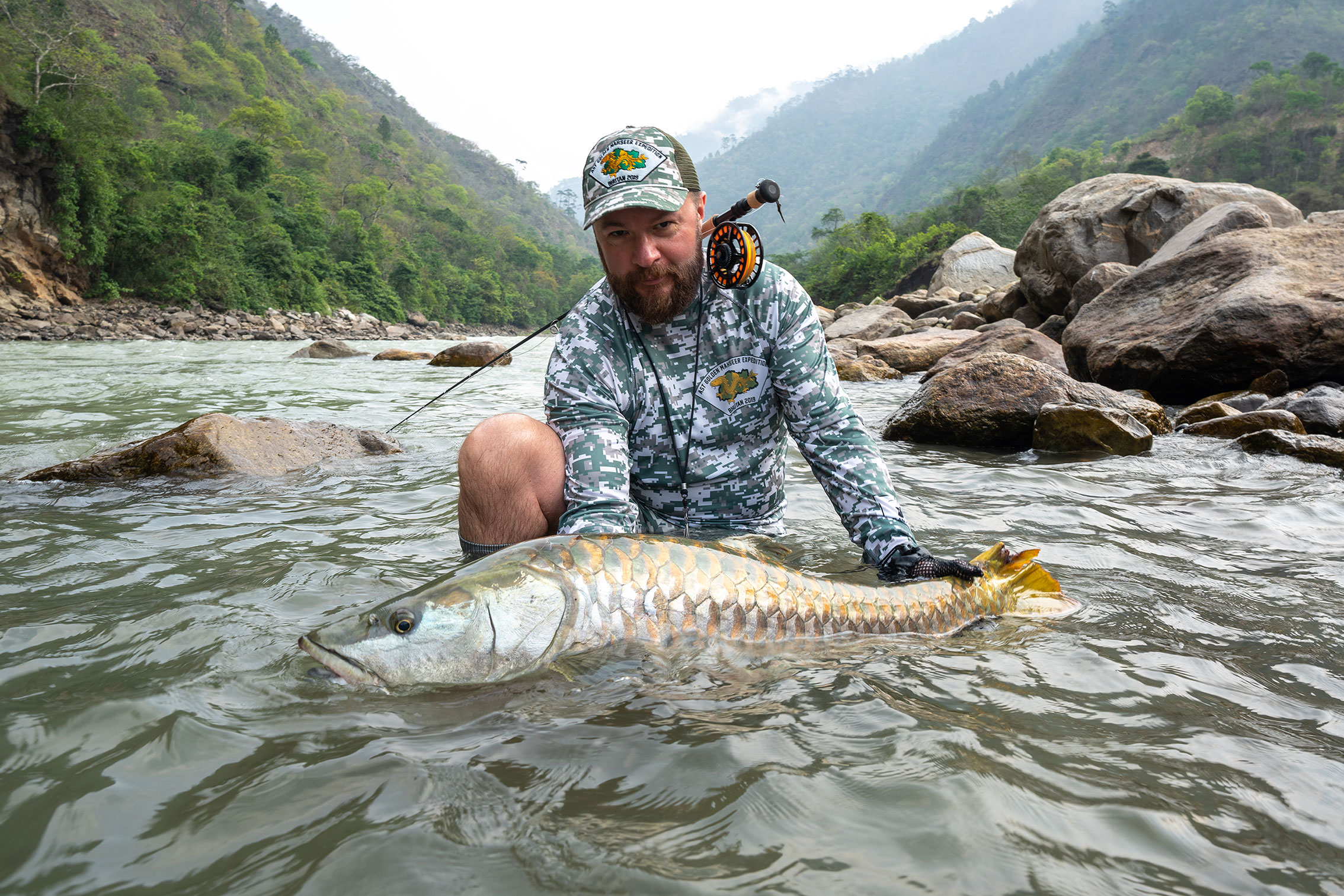 Bhutan fly fishing
