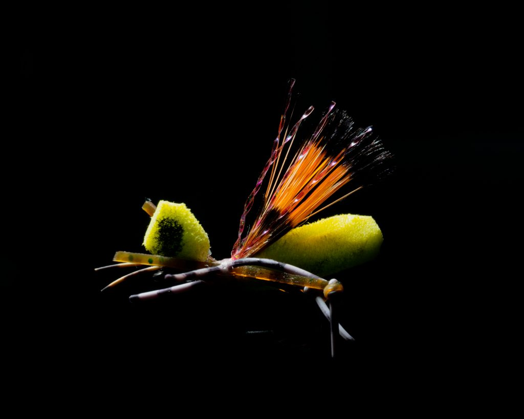 fly lure photography