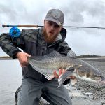 Tom Clinton of Farlows with a great róbalo
