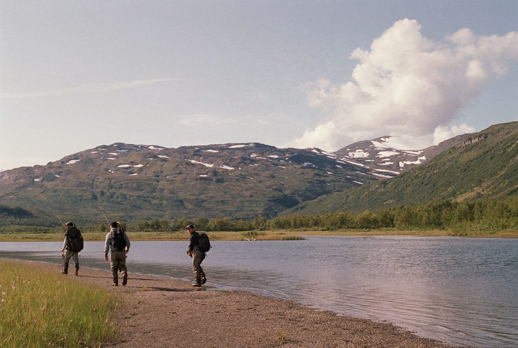 Podsol Fly Fishing in Sweden