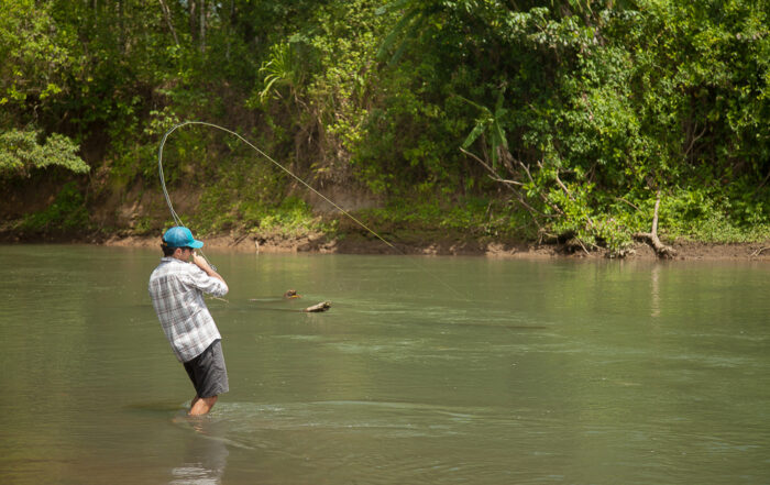Fly fishing in Costa Rica