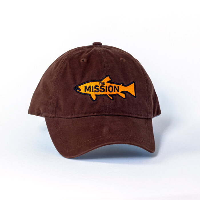 The Trout Cap in Brown