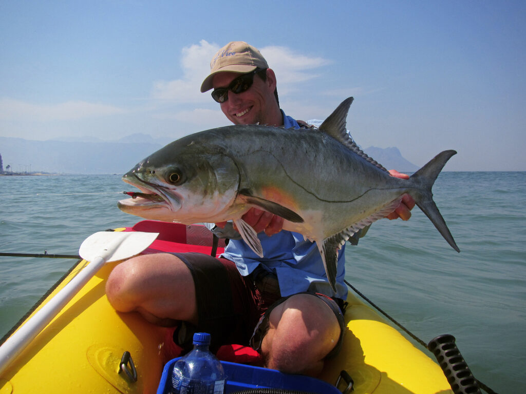Leonard Flemming with a South African leervis