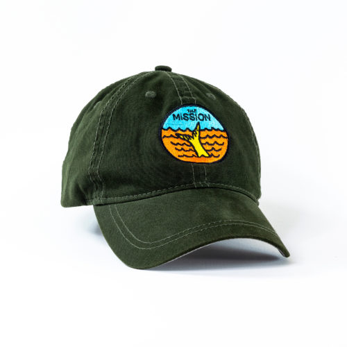 The Yella Fella Dad Cap in green